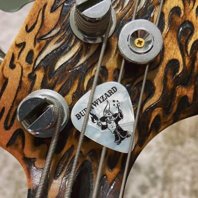 BurnWizard guitar pick
