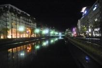 Night riverside