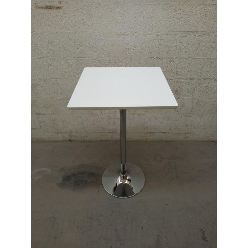table haute 60x60 mange debout