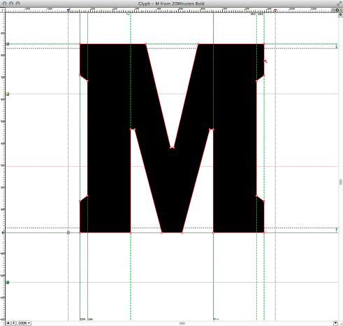 20 Minuten Online Font Büro Destruct