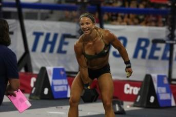 Amanda Barnhart lors de l'épreuve 7 - Split Triplet