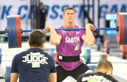 Jason Smith lors des Crossfit Games 2018