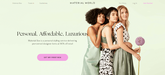 material world sell clothes