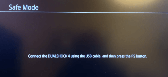 connect dualshock 4 with us to ps4