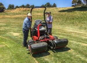 New Toro Greens Mower