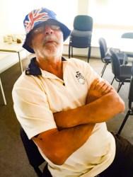 "Eddie ""The Flying Dutchman"" Van Keulen received the Australia Day Mars Bar."