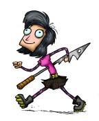 harpoon girl