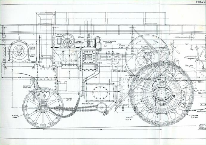 DESIGN THE BURRELL SPECIAL SCENIC SHOWMANS ROAD LOCOMOTIVE