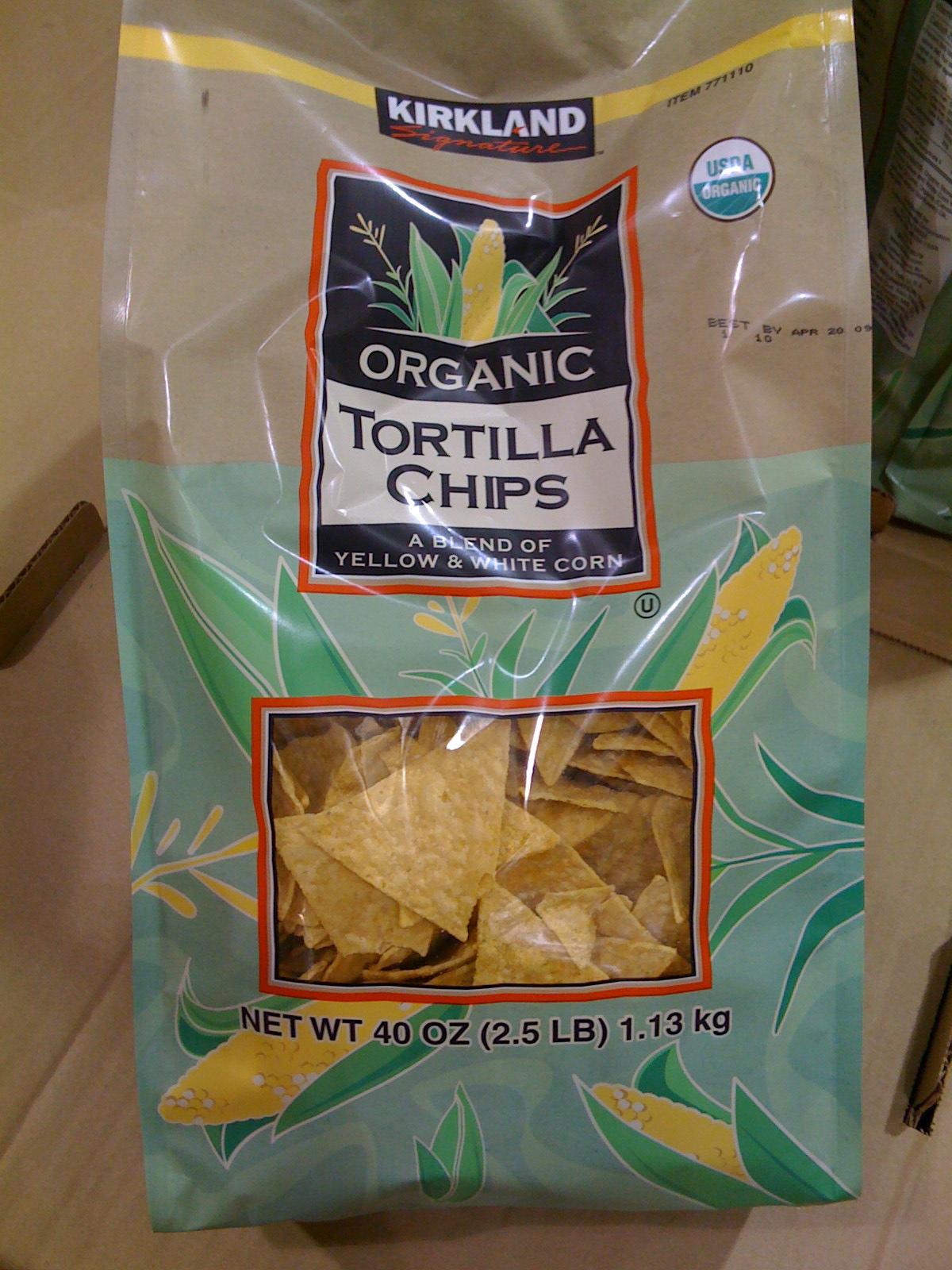 costco organic chips