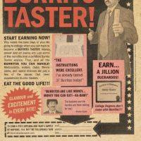 Become a Burrito Taster!
