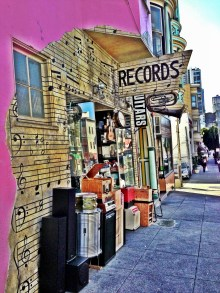 Coolest record store :: 101 Music in North Beach.