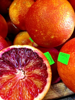 And blood oranges.