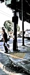 Skateboarder in the Mission.