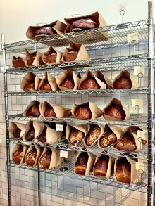 Loaves on loaves.