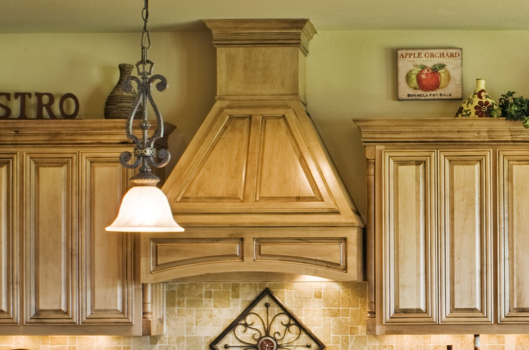 Custom Vent Hoods  Burrows Cabinets  central Texas