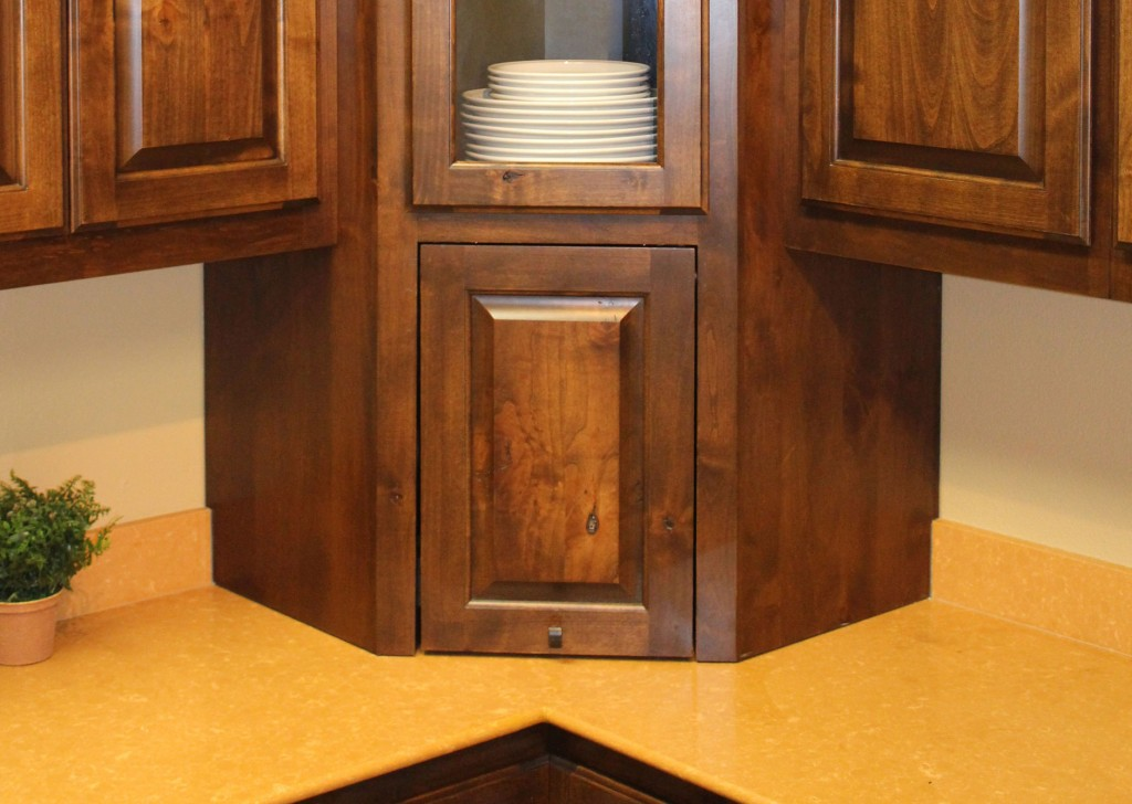 small corner hutch kitchen kohler pull out faucet repair appliance garage - burrows cabinets central ...