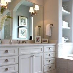 Alder Kitchen Cabinets Nutri White Shaker Style Master Bath