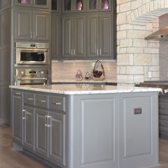Colored Kitchen Islands Copper Lighting Island - Burrows Cabinets Central Texas Builder ...