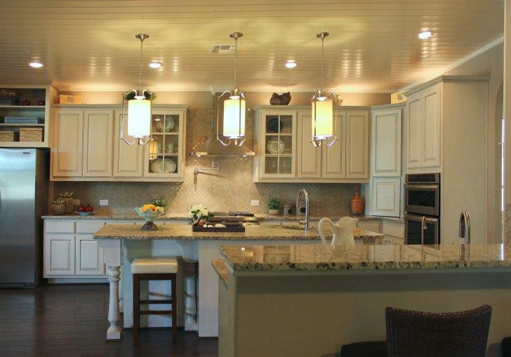 White Kitchen Cabinets Black Glaze