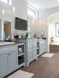 Bathroom - Burrows Cabinets - central Texas builder-direct ...