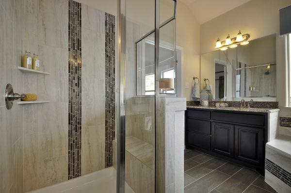 Master Bathroom Vanity with Cabinet