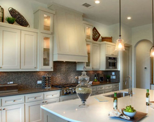 kitchen buffet storage cabinet replacing sink vent hood - shaker burrows cabinets central texas ...
