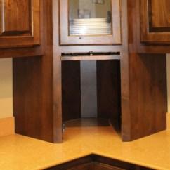 Oak Kitchen Pantry Best Buy Appliances Appliance Garage - Corner Burrows Cabinets Central ...