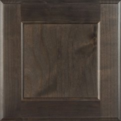 Pull Knobs For Kitchen Cabinets Sinks Flat Panel In Clear Alder Driftwood - Burrows ...