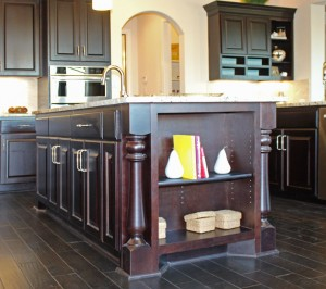 wine rack island kitchen small archives - burrows cabinets central texas ...