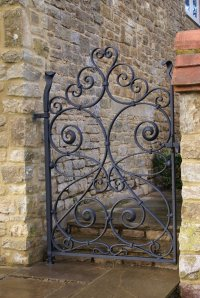 Wrought Iron Gate | Burrows Lea Forge  Hand Forged Ironwork
