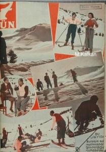 Naci Sadullah'ın Röportajının yayınlandığı 18.4.1934 tarihli ve 58 sayılı Yedigün Dergisi'nini kapağı