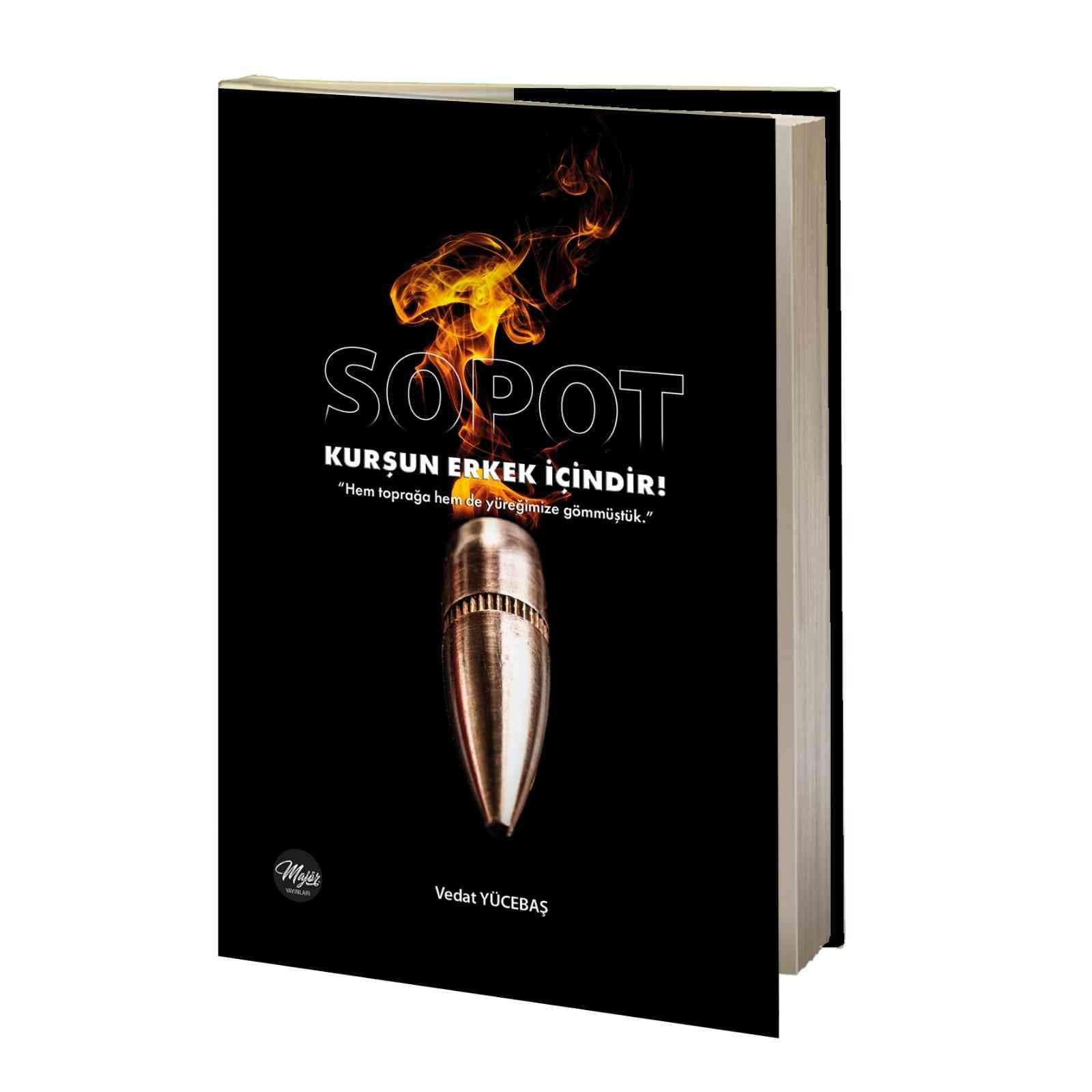 Bursalı gazetecinin ilk kitabı ' Sopot ' yayınlandı