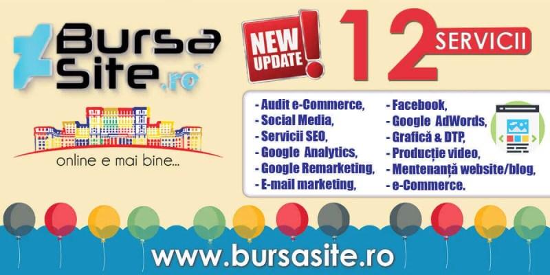 servicii UPDATE – Noi servicii adăugate pe website! bursasite romania noi servicii webdesign ramnicu sarat website buzau site uri buzau