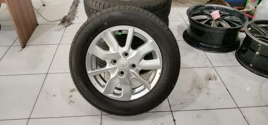 Velg Mobil Oem STD NEW BRIO + BAN DUNLOP 175 65 R14