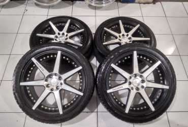 Velg Mobil Racing Ring 17 Second VERTINI Pcd:8×100/114,3