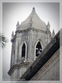 bell tower and spikes