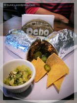 burrito for meza ocho. :D