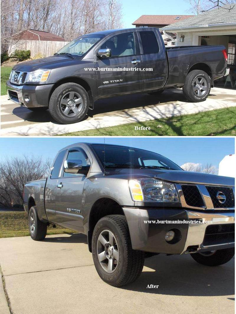 Lift Kit Before And After : before, after, Leveling, Kits,, Special, Pricing, Nissan, Titan, Forum