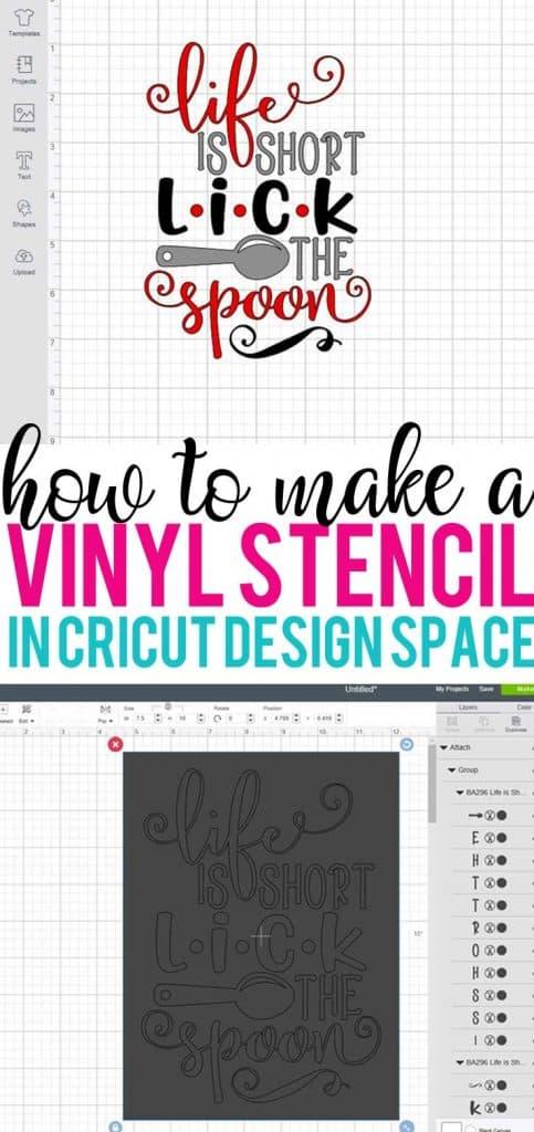 How To Create A Stencil On Cricut : create, stencil, cricut, Stencil, Cricut, Burton, Avenue