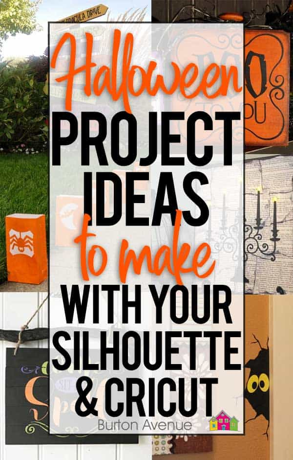 20 Halloween Ideas Craft Projects For Silhouette And Cricut Burton Avenue