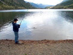 Fishing on Arrow Lakes