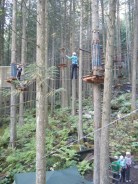 Ziplining at Revelstoke 2014