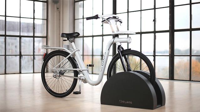 Bicicleta con transmisión a cardan.