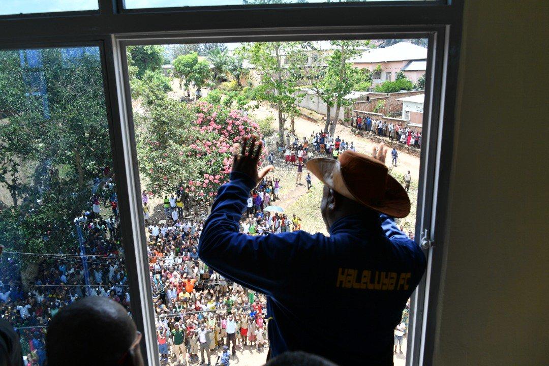 Burundi: Inauguration du nouveau Bureau provincial de Bubanza  ( Photo : Presidence.bi  2018 )