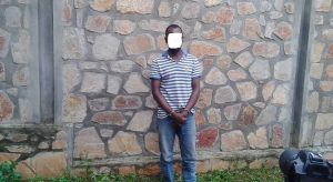 Burundi : 1 homme -Sindumuja- accusé d'avoir brûlé vif un citoyen en 2015 ( Photo : ABP 2019 )
