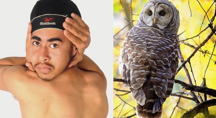 Pria unik dengan kepala burung Hantu (seeker.com)