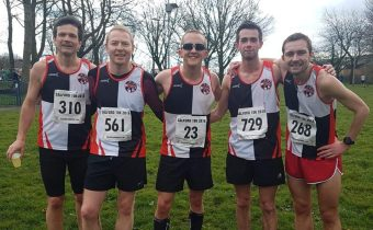 Bury Bests in Blistering Salford 10k