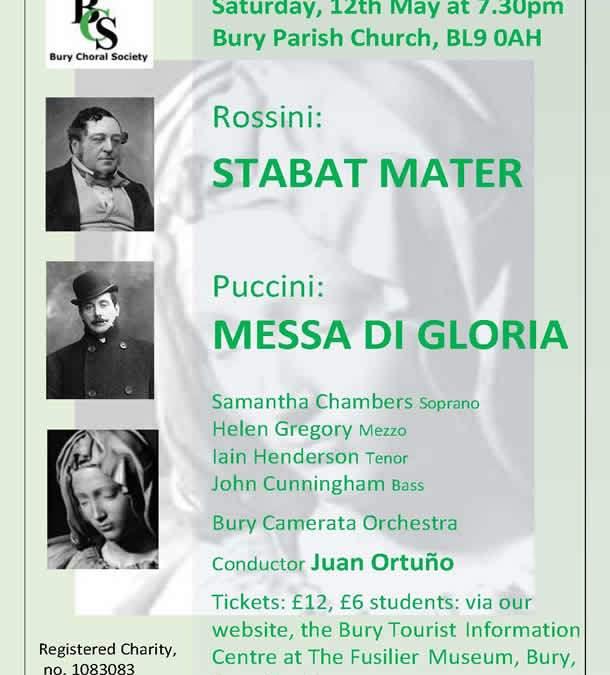 Stabat Mater & Messa di Gloria