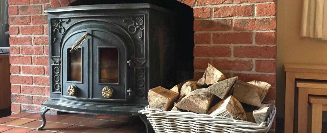 Bury Hill Farm Holiday Let Bristol Log Fire