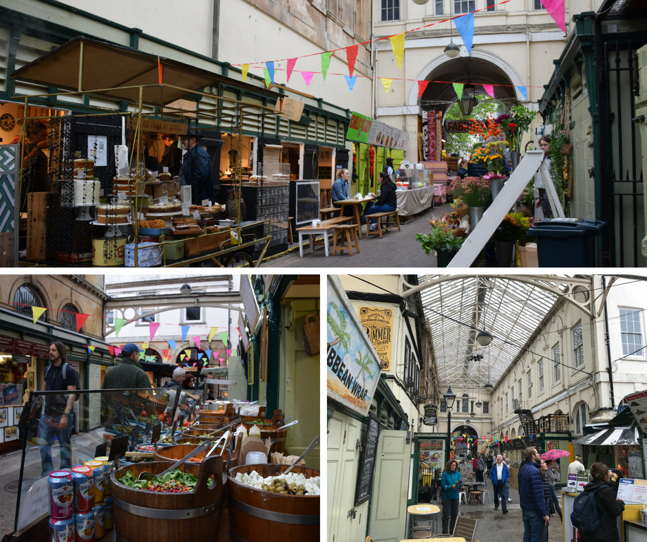Food Court St Nicholas Indoor Market Bristol